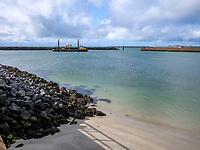 Dünenhafen, Insel Helgoland, Schleswig-Holstein, Deutschland, Europa<br /> dune harbor, Helgoland island, district Pinneberg, Schleswig-Holstein, Germany, Europe