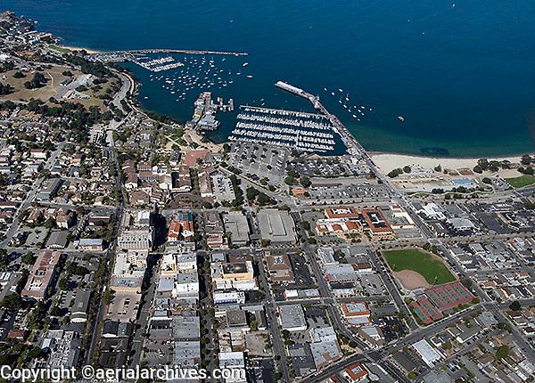 aerial photograph of Monterey, California