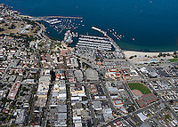 aerial photograph of Monterey, California