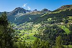 Switzerland, Canton Valais: Grimentz at Val d'Anniviers | Schweiz, Kanton Wallis: Grimentz im Val d'Anniviers (Eifischtal)