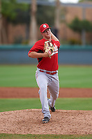 Cincinnati Reds pitcher Isaac Anesty (80) during an instructional league game against the Los Angeles Dodgers on October 20, 2015 at Cameblack Ranch in Glendale, Arizona.  (Mike Janes/Four Seam Images)