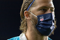FORT LAUDERDALE, FL - DECEMBER 09: Walker Zimmerman of the United States during a game between El Salvador and USMNT at Inter Miami CF Stadium on December 09, 2020 in Fort Lauderdale, Florida.
