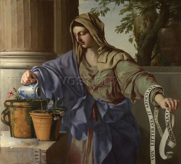 Full title: Allegory of Grammar<br /> Artist: Laurent de La Hyre<br /> Date made: 1650<br /> The National Gallery, London