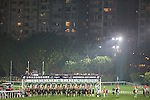 WAN CHAI,HONG KONG-DECEMBER 07: Starting gate at Happy Valley Racecourse on December 7,2016 in Wan Chai,Hong Kong (Photo by Kaz Ishida/Eclipse Sportswire/Getty Images)