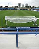 General view from the Bradbourne Road end at the New Rec - Grays Athletic Football Club - 12/08/05 - MANDATORY CREDIT: Gavin Ellis/TGSPHOTO. Self-Billing applies where appropriate. NO UNPAID USE. Tel: 0845 094 6026