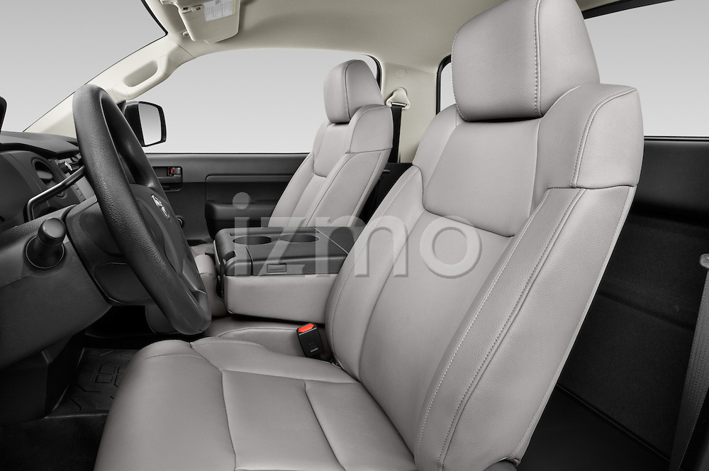 Front seat view of a 2017 Toyota Tundra 5.7 Auto SR Regular Cab 2 Door Truck Front Seat car photos