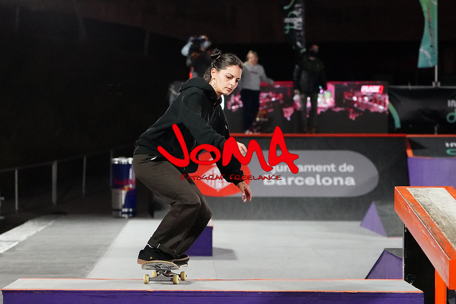 6th November 2020; Parc del Forum, Barcelona, Catalonia, Spain; Imagin Extreme Barcelona; picture show Camila Ruiz (ARG) during women street final