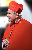 Cardinal Christoph Schönborn,Pope Benedict XVI leads the Consistory where he will appoint 22 new cardinals on February 18, 2012 at St Peter's basilica at the Vatican.