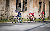 Xandro Meurisse (BEL/Alpecin-Fenix) setting the tempo in the peloton<br /> <br /> Stage 1 from Lido di Camaiore to Lido di Camaiore (156km)<br /> <br /> 56th Tirreno-Adriatico 2021 (2.UWT) <br /> <br /> ©kramon