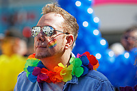 Pictured: Leader of Swansea Council Rob Stewart. Saturday 04 May 2019<br /> Re: Swansea Pride Parade in south Wales, UK.