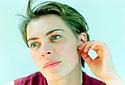 Saskia Reeves, English Actress 10/89.  CREDIT Geraint Lewis