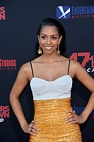 "LOS ANGELES, USA. August 14, 2019: Corinne Foxx at the premiere of ""47 Meters Down: Uncaged"" at the Regency Village Theatre.<br /> Picture: Paul Smith/Featureflash"