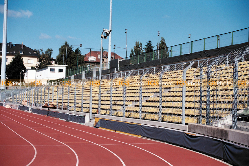 General view of Stade Josy Barthel Football / Athletics Stadium