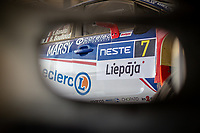 3rd July 2021, Liepaja, Latvia;  07 BONATO Yoann (FRA) , BOULLOUD Benjamin (FRA), CHL SPORT AUTO, Citroen C3 during the 2021 FIA ERC Rally Liepaja, 2nd round of the 2021 FIA European Rally Championship