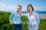 Enjoying a stroll in Ballybunion on Saturday, l to r: Yvonne Murphy and Elaine Downes.