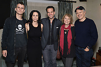 """NEW YORK - OCTOBER 30: (L-R) Jack Hutton, Executive Producer Rebecca Cammisa, Carlos Loret de Mola, Deborah Shaffer and Glenn Silber attend the reception after the screening of National Geographic Documentary Films """"Sea of Shadows"""" and """"Lost and Found"""" on October 30, 2019 in New York City. (Photo by Anthony Behar/National Geographic/PictureGroup)"""