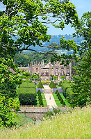 BNPS.co.uk (01202 558833)<br /> Pic: GrahamHunt/BNPS<br /> <br /> The ruins of Parnham House <br /> A £15m stately home has gone back on the market for a cut-price £2.5m after it was burnt to the ground in a suspected arson attack.<br /> <br /> Grade I listed Parnham House, near Beaminster, Dorset, is now just a charred shell of the magnificent mansion it once was following the blaze in April 2017.<br /> <br /> Its owner, hedge fund manager Michael Treichl, was arrested on suspicion of arson only to later drown in an apparent suicide. <br /> <br /> A sale for £3m was agreed for the Elizabethan manor fell through earlier this year and it has now been listed for sale again.