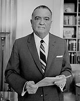 File Photo -  FBI Director Edgar J. Hoover in 1961