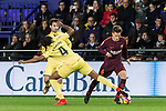 Denis Suarez Fernandez (R) of FC Barcelona fights for the ball with Ruben Afonso Borges Semedo of Villarreal CF during the La Liga 2017-18 match between Villarreal CF and FC Barcelona at Estadio de la Ceramica on 10 December 2017 in Villarreal, Spain. Photo by Maria Jose Segovia Carmona / Power Sport Images