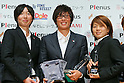 Football / Soccer : Plenus Nadeshiko LEAGUE 2012 Award ceremony