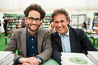 Wednesday  01 June 2016<br /> Pictured: Daniel and Richard  Susskind<br /> Re: The 2016 Hay festival take place at Hay on Wye, Powys, Wales