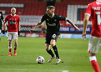 Danny Mayor of Plymouth Argyle during Charlton Athletic vs Plymouth Argyle, Emirates FA Cup Football at The Valley on 7th November 2020