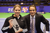 18-12-10, Tennis, Rotterdam, Reaal Tennis Masters 2010, IC award voor Esther Vergeer