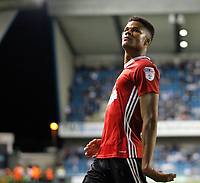 GOAL - Ipswich Town's Jordan Spence celebrates*** during the Sky Bet Championship match between Millwall and Ipswich Town at The Den, London, England on 15 August 2017. Photo by Carlton Myrie.