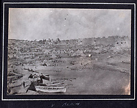 BNPS.co.uk (01202 558833)<br /> Pic: C&T/BNPS<br /> <br /> V Beach - The arrival of the RNAS in Gallipoli in April 1915.<br /> <br /> Never before seen photos of the disastrous Gallipoli campaign have come to light over a century later.<br /> <br /> The fascinating snaps were taken by Sub Lieutenant Gilbert Speight who served in the Royal Naval Air Service in World War One.<br /> <br /> They feature in his photo album which covers his eventful war, including a later stint in Egypt.<br /> <br /> There are dramatic photos of the Allies landing at X Beach, as well as sobering images of a mass funeral following the death of 17 Brits. Another harrowing image shows bodies lined up in a mass grave.<br /> <br /> The album, which also shows troops during rare moments of relaxation away from the heat of battle, has emerged for sale with C & T Auctions, of Ashford, Kent. It is expected to fetch £1,500.