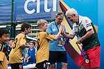 Prize ceremony during the Juniors of the HKFC Citi Soccer Sevens on 21 May 2016 in the Hong Kong Footbal Club, Hong Kong, China. Photo by Lim Weixiang / Power Sport Images