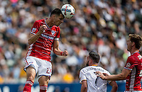 Carson, CA - March 4, 2017: The Los Angeles Galaxy take on FC Dallas in a Major League Soccer (MLS) game at StubHub Center.