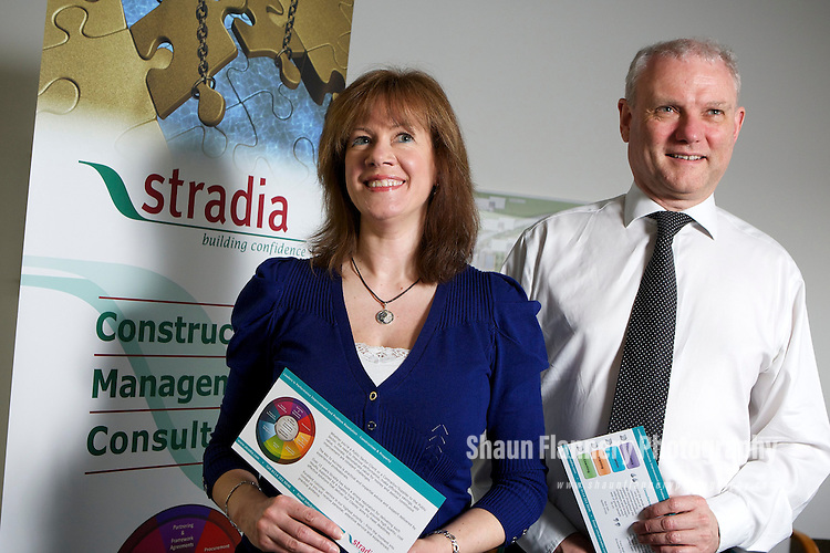 Pix: Shaun Flannery/shaunflanneryphotography.com..COPYRIGHT PICTURE>>SHAUN FLANNERY>01302-570814>>07778315553>>..20th March 2010...........Stradia, Sheffield Business Park..Directors Nigel Barr and Sharron Taylor.