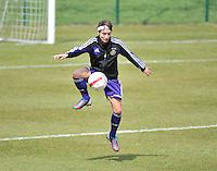 RSC Anderlecht Dames - ADO Den Haag : Stephanie Suenens.foto DAVID CATRY / Nikonpro.be