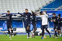 17th November 2020; Stade de France, Paris,  France; UEFA National League international football, France versus Sweden; France warm up for VARANE RAPHAEL (France)