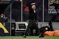 Luis Enrique coach of Spain during the Uefa Nations League semi-final football match between Italy and Spain at San Siro stadium in Milano (Italy), October 6th, 2021. Photo Andrea Staccioli / Insidefoto