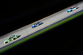 #18: Kyle Busch, Joe Gibbs Racing, Toyota Camry Interstate Batteries and #24: William Byron, Hendrick Motorsports, Chevrolet Camaro Hendrick Autoguard