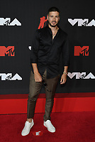 NEW YORK, NY- SEPTEMBER 12: Vinny Guadagnino at the 2021 MTV Video Music Awards at Barclays Center on September 12, 2021 in Brooklyn,  New York City. <br /> CAP/MPI/JP<br /> ©JP/MPI/Capital Pictures