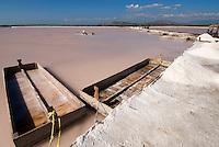 Salinen in Salinas bei Bani an der Südküste 70km westlich von Santo Domingo, Dominikanische Republik