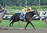 5 September 2009: Rachel Alexandra and jockey Calvin Borel (3) winning the Woodward Stakes at Saratoga Race Track in Saratoga Springs, New Yorkat Saratoga Race Track in Saratoga Springs, New York