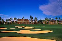 Hualalai Resort, No. 18, Big Island, Hawaii.  Architect: Jack Nicklaus