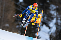 26th December 2020; Stelvio, Bormio, Italy; FIS World Cup Mens Downhill;   Christof Innerhofer of Italy during his 1st training run for the mens downhill race of FIS ski alpine world cup at the Stelvio