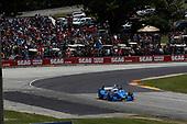 Verizon IndyCar Series<br /> Kohler Grand Prix<br /> Road America, Elkhart Lake, WI USA<br /> Sunday 25 June 2017<br /> Scott Dixon, Chip Ganassi Racing Teams Honda<br /> World Copyright: Michael L. Levitt<br /> LAT Images