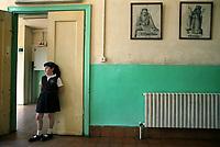 Sts. Tarkmanchatz Armenian School of Jerusalem, October 2003.