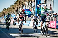 Mads Würtz Schmidt (DEN/Israel Start-Up Nation) wins stage 6 from Castelraimondo to Lido di Fermo (169km)<br /> <br /> 56th Tirreno-Adriatico 2021 (2.UWT) <br /> <br /> ©kramon