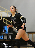 Ella Aprea (15) of Bentonville on Thursday, Oct.  7, 2021, during play at Tiger Arena in Bentonville. Visit nwaonline.com/211008Daily/ for today's photo gallery.<br /> (Special to the NWA Democrat-Gazette/David Beach)