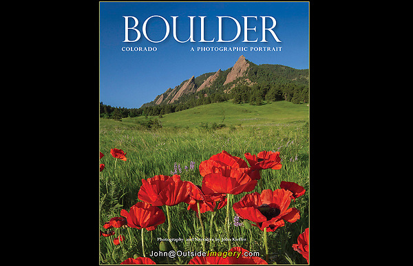 """Visit my Home Page to see the entire book.<br /> It was wonderful to be asked to re-photograph my classic book on Boulder.  I provided all new photography and writing for: """"Boulder, Colorado: A Photographic Portrait,""""  a hardcover book with 165 captioned, color photos.  Published by:  TwinLightsPub.com (May 2018)"""