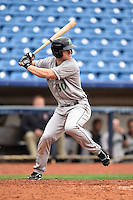 Dayton Dragons first baseman Daniel Pigott (30) at bat during a game against the Lake County Captains on June 8, 2014 at Classic Park in Eastlake, Ohio.  Lake County defeated Dayton 4-2.  (Mike Janes/Four Seam Images)