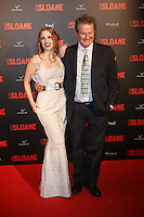 Jessica Chastain et John Madden - Photocall du film ´ Miss Sloane ª ‡ líUGC Normandie ‡ Paris, France, le 02/03/2017.