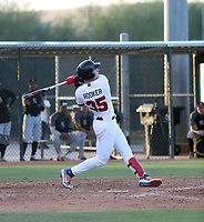 Brent Rooker plays for the USA Baseball Premier 12 Team in a game against Central Arizona College at the Kansas City Royals complex on October 27, 2019 in Surprise, Arizona (Bill Mitchell)