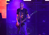 WEST PALM BEACH, FL - AUGUST 05: Johnny April of Staind performs at The iTHINK Financial Amphitheatre on August 5, 2021 in West Palm Beach Florida. Credit Larry Marano © 2021